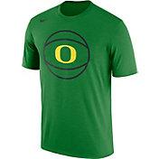 Nike Men's Oregon Ducks Apple Green Basketball Legend T-Shirt