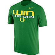 Nike Men's Oregon Ducks Apple Green 'Win the Day' Authentic Local Legend T-Shirt