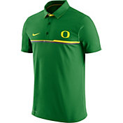 Nike Men's Oregon Ducks Apple Green Elite Coaches Performance Polo