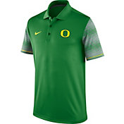 Nike Men's Oregon Ducks Apple Green Early Season Coach Polo