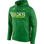 Nike Men's Oregon Ducks Apple Green Circuit PO Hoodie