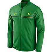 Nike Men's Oregon Ducks Apple Green Elite Hybrid Jacket