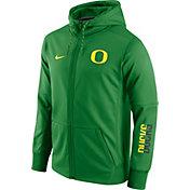 Nike Men's Oregon Ducks Apple Green Circuit Full-Zip Hoodie