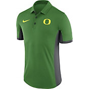 Nike Men's Oregon Ducks Apple Green Evergreen Performance Polo