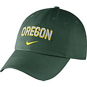 Nike Men's Oregon Ducks Green Heritage86 Wordmark Swoosh Flex Hat