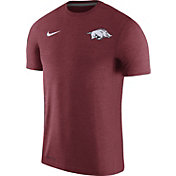 Nike Men's Arkansas Razorbacks Cardinal Coach Football T-Shirt