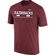 Nike Men's Arkansas Razorbacks Cardinal Football Staff Legend T-Shirt