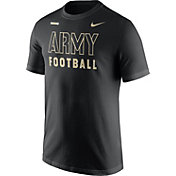 Nike Men's Army West Point Black Knights Football Sideline Facility Army Black T-Shirt