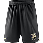 Nike Men's Army West Point Black Knights Army Black Knit Football Sideline Performance Shorts