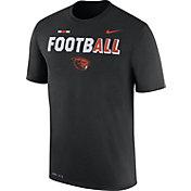 Nike Men's Oregon State Beavers FootbALL Sideline Legend Black T-Shirt