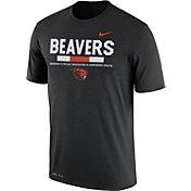 Nike Men's Oregon State Beavers Football Staff Legend Black T-Shirt