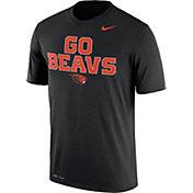 Nike Men's Oregon State Beavers Black 'Go Beavs' Authentic Local Legend T-Shirt