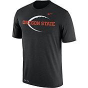 Nike Men's Oregon State Beavers Football Icon Legend Black T-Shirt