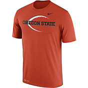 Nike Men's Oregon State Beavers Orange Football Icon Legend T-Shirt