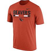 Nike Men's Oregon State Beavers Orange Football Staff Legend T-Shirt