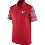 Nike Men's Rutgers Scarlet Knights Scarlet Early Season Coach Polo