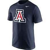 Nike Men's Arizona Wildcats Navy Logo T-Shirt