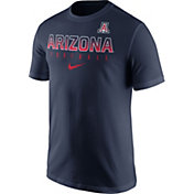 Nike Men's Arizona Wildcats Navy Football Practice T-Shirt