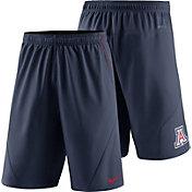 Nike Men's Arizona Wildcats Navy Fly XL 5.0 Football Sideline Shorts