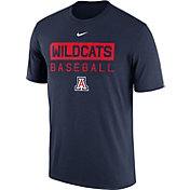 Nike Men's Arizona Wildcats Navy Team Issue Legend Baseball T-Shirt