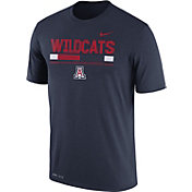Nike Men's Arizona Wildcats Navy Football Staff Legend T-Shirt