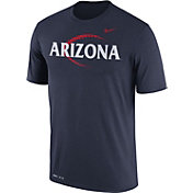 Nike Men's Arizona Wildcats Navy Football Icon Legend T-Shirt