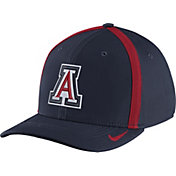 Nike Men's Arizona Wildcats Navy Aerobill Swoosh Flex Classic99 Football Sideline Hat