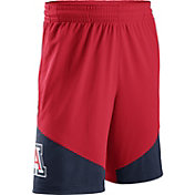 Nike Men's Arizona Wildcats Cardinal/Navy New Classics ELITE Basketball Shorts