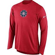 Nike Men's Arizona Wildcats Cardinal ELITE Shooter Long Sleeve Shirt