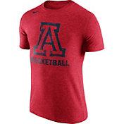 Nike Men's Arizona Wildcats Cardinal Basketball Tri-Blend T-Shirt