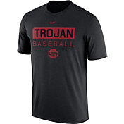 Nike Men's USC Trojans Team Issue Legend Baseball Black T-Shirt