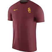 Nike Men's USC Trojans Cardinal Coach Football T-Shirt