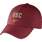 Nike Men's USC Trojans Cardinal Heritage86 Wordmark Swoosh Flex Hat