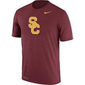 Nike Men's USC Trojans Cardinal Logo Dry Legend T-Shirt