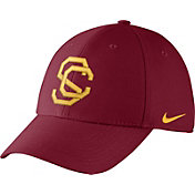 Nike Men's USC Trojans Cardinal Vault Dri-FIT Swoosh Flex Hat