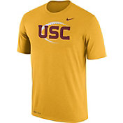 Nike Men's USC Trojans Gold Football Icon Legend T-Shirt