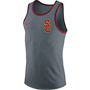 Nike Men's USC Trojans Grey Marled Tank Top