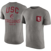 Nike Men's USC Trojans Grey Resurge Pocket T-Shirt