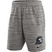Nike Men's USC Trojans Heathered Grey Fleece Basketball Shorts