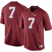 Nike Men's Stanford Cardinal #7 Cardinal Game Football Jersey