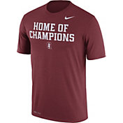 Nike Men's Stanford Cardinal 'Home of Champions' Cardinal Authentic Local Legend T-Shirt
