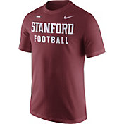 Nike Men's Stanford Cardinal Cardinal Football Sideline Facility T-Shirt