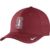 Nike Men's Stanford Cardinal Vapor Cardinal Sideline Coaches Hat