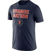 Nike Men's Syracuse Orange Blue Basketball T-Shirt