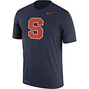 Nike Men's Syracuse Orange Blue Logo Dry Legend T-Shirt
