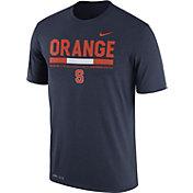 Nike Men's Syracuse Orange Blue Football Staff Legend T-Shirt