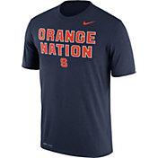 Nike Men's Syracuse Orange Blue 'Orange Nation' Authentic Local Legend T-Shirt