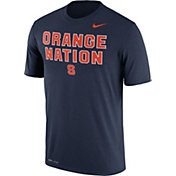 Nike Men's Syracuse Orange Blue 'Orange Nation' Authentic Local Legend T-Shirt