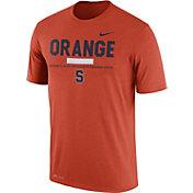 Nike Men's Syracuse Orange Football Staff Legend Orange T-Shirt