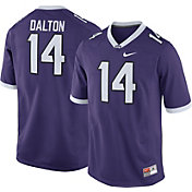 Nike Men's Andy Dalton TCU Horned Frogs #14 Purple Replica College Alumni Jersey